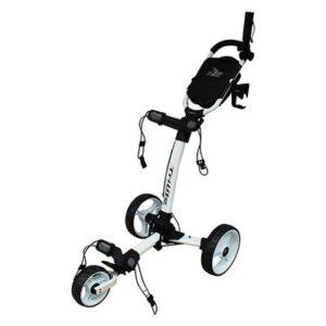 Axglo Trilite 3-hjulet Golfvogn - Hvid/Hvid