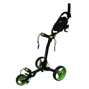 Axglo Trilite 3-hjulet Golfvogn - Sort/Grøn