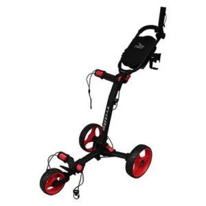 Axglo Trilite 3-hjulet Golfvogn - Sort/Rød