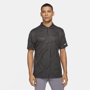 Nike Dri-FIT Tiger Woods-golfpolo til mænd - Grå