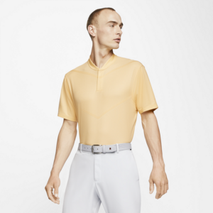 Nike Dri-FIT Tiger Woods-golfpolo til mænd - Gul