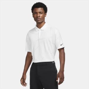 Nike Dri-FIT Tiger Woods-golfpolo til mænd - Hvid