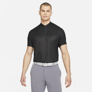 Nike Dri-FIT Tiger Woods-golfpolo til mænd - Sort