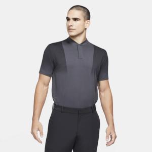 Nike Dri-FIT Tiger Woods-golfpolotrøje med print til mænd - Grå