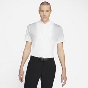 Nike Dri-FIT Tiger Woods-golfpolotrøje med print til mænd - Hvid
