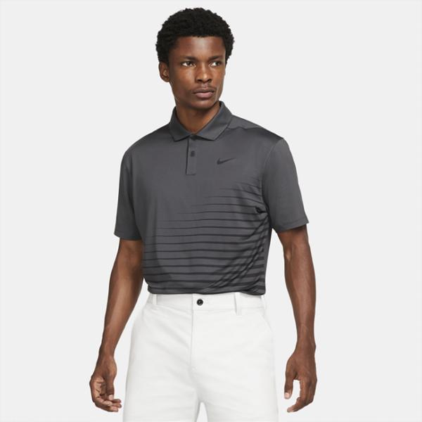 Nike Dri-FIT Vapor-golfpolo med grafik til mænd - Grå
