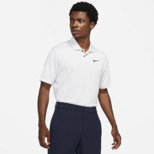 Nike Dri-FIT Vapor-golfpolo til mænd - Hvid