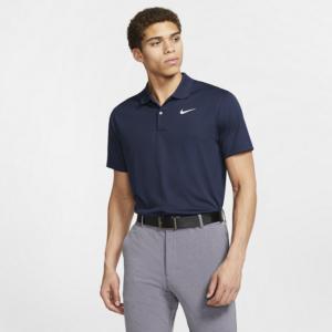 Nike Dri-FIT Victory-golfpolo til mænd - Blå