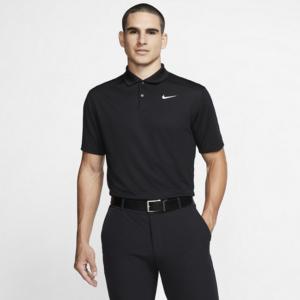 Nike Dri-FIT Victory-golfpolo til mænd - Sort
