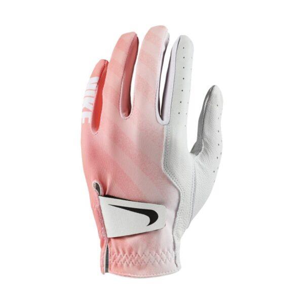 Nike Tech - golfhandske til kvinder (venstre, almindelig) - Hvid