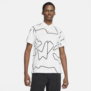 The Nike Polo med slank pasform til mænd - Hvid