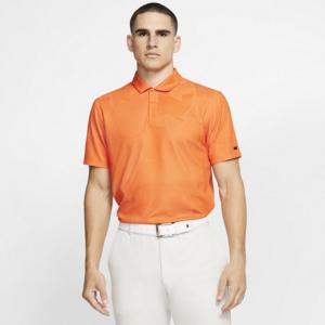 Nike Dri-FIT Tiger Woods Camo-golfpolo til mænd - Orange