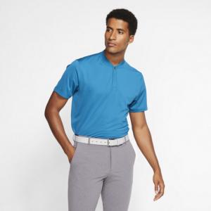 Nike Dri-FIT Tiger Woods-golfpolo til mænd - Blå