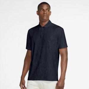 Nike Dri-FIT Vapor-golfpolo med grafik til mænd - Blå