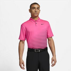 Nike Dri-FIT Vapor-golfpolo med grafik til mænd - Pink