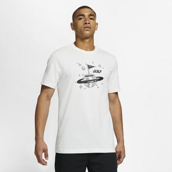 Nike-golf-T-shirt til mænd - Hvid