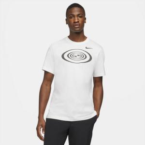 Tiger Woods-golf-T-shirt til mænd - Hvid