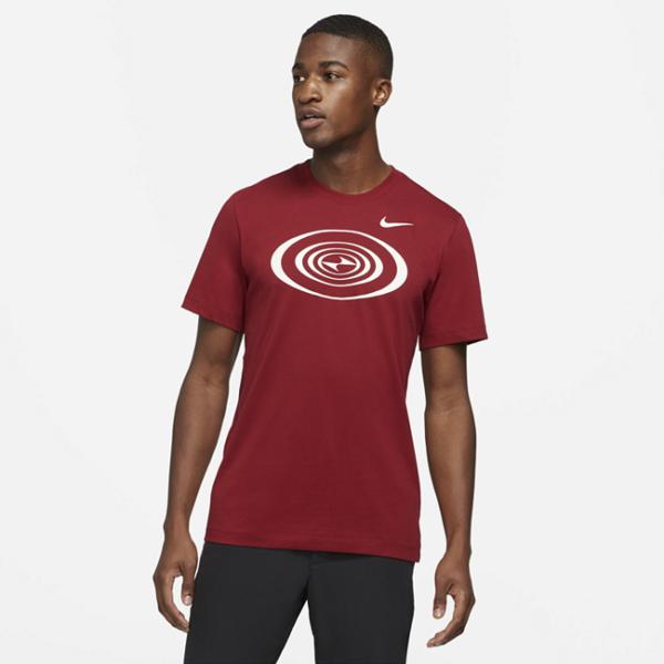 Tiger Woods-golf-T-shirt til mænd - Rød