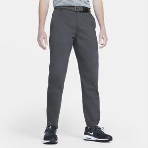 Nike Dri-FIT UV-golf-chinobukser med standardpasform til mænd - Grå