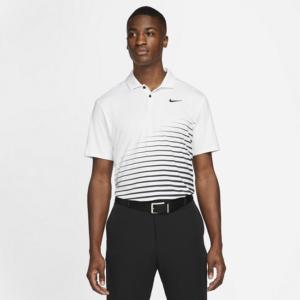 Nike Dri-FIT Vapor-golfpolo med grafik til mænd - Hvid